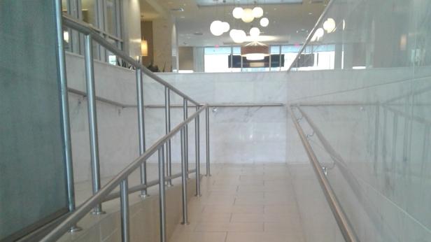 Contemporary walkway