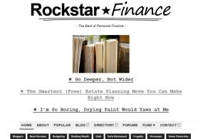 Rockstar-homepage